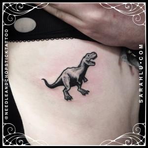 Sarah Lu Mini Dinosaur
