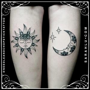 Sarah Lu Sun Moon Bohemian