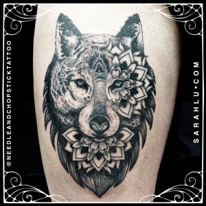 Sarah Lu Wolf Mandala