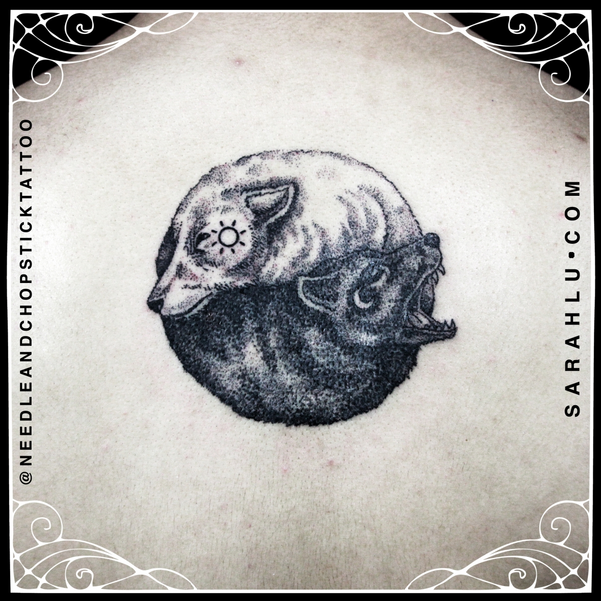 Yin Yang Wolf Tattoo Meaning Www Topsimages Com